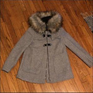 Zara XS coat brand new